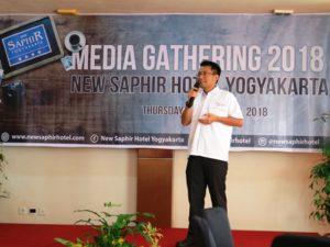 Mirza Mahardian, GM Hotel New Saphir Yogyakarta