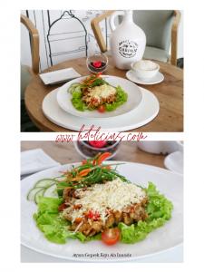 Ayam Geprek keju Besutan Syndeo Cafe Hotel Innside By Melia Yogyakarta